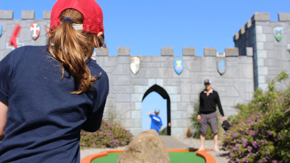 Take the whole family to Mini Golf these Christchurch School Holidays